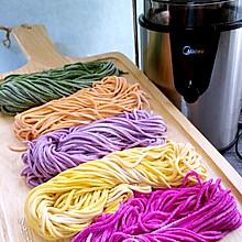 蔬果汁面条#爱的暖胃季— 美的智能破壁料理机#