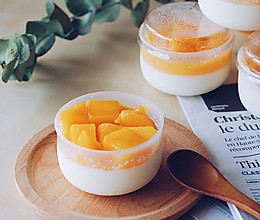 酸甜香浓的芒果奶酪的做法