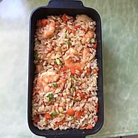 鲜虾焗饭#百吉福芝士力量#的做法图解6