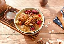 茶树菇红枣枸杞煲鸡汤的做法