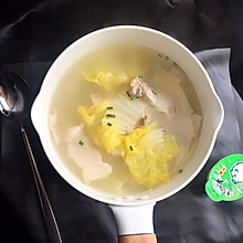 白菜肉片汤#浓汤宝火锅英雄争霸赛#
