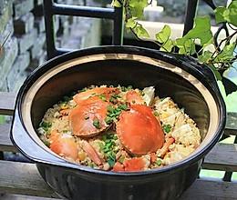 【青蟹糯米饭】——绝味米饭的做法