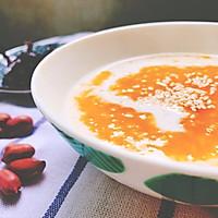 自创南瓜小米粥的做法图解10