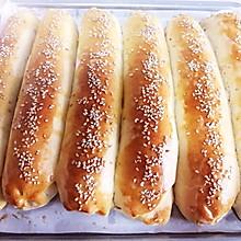 #橄享国民味 热烹更美味#芝麻豆沙小排包