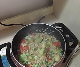 减肥通便麦片饭的做法