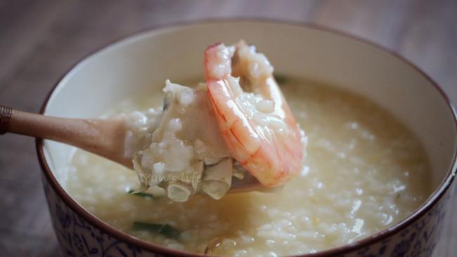 虾蟹粥(煮)#胆·敢不同,美的原生态AH煲#的做法