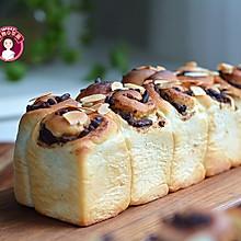 #全电厨王料理挑战赛热力开战!#冷藏发酵法蜜豆面包