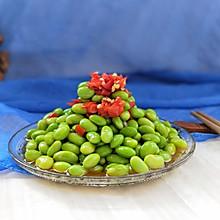 剁椒凉拌毛豆(减脂高蛋白美菜)#松下多面美味#