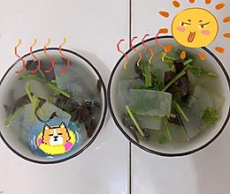 减肥食谱 | 冬瓜木耳香菜汤(零基础掉称快)的做法