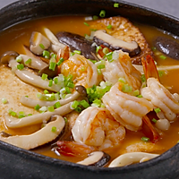 【虾仁菌菇烩豆腐】用这个方法吃豆腐,米饭闻风丧胆!的做法图解5