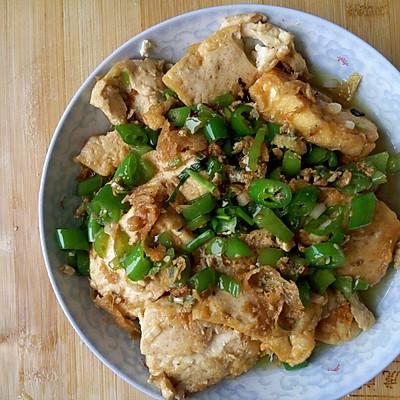 家常煎豆腐