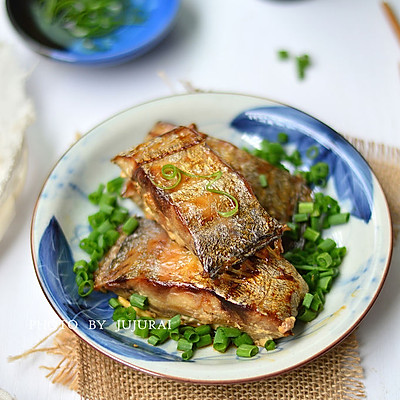 #长帝e•Bake互联网烤箱之——葱香烤带鱼