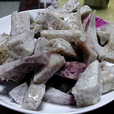 白糖甜芋(高压锅版)的做法 步骤3