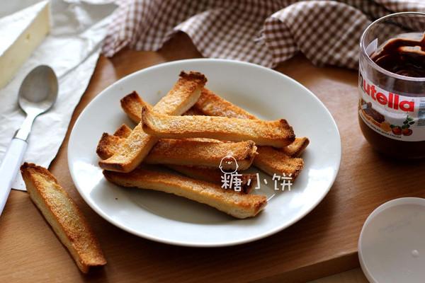 【香脆黄油吐司条】的做法