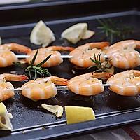 夏天不开火,轻松吃美味之【法香串串虾】的做法图解4