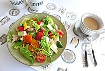 金枪鱼意面果蔬沙拉的做法