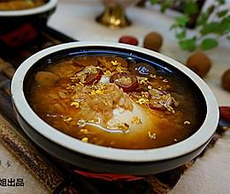 桂圆红枣酒酿荷包蛋-----冬季养身必备的做法
