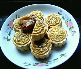 清爽杨梅腰果月饼的做法