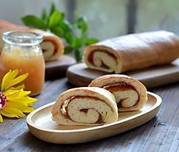 肉桂苹果面包卷的做法