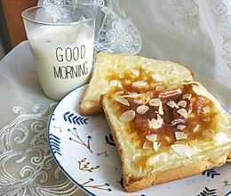 岩烧乳酪片~简单版牛奶+芝士片即可搞定的做法