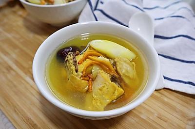 虫草菇炖鸡❗️提高免疫力,健脾养胃