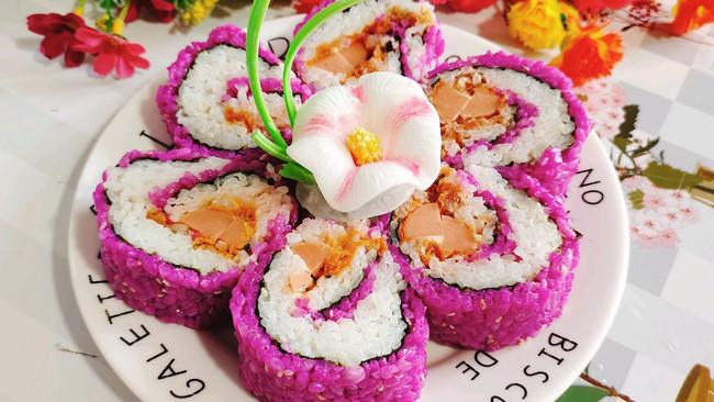 反转樱花寿司的做法
