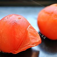 冬日快手暖身早餐 番茄疙瘩汤的做法图解2