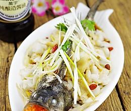 萬字纯酿造酱油试用报告——清蒸鲈鱼的做法