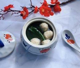 香菇贡丸汤的做法