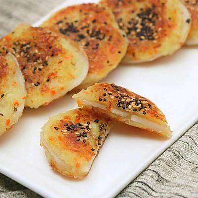 秋藕土豆饼