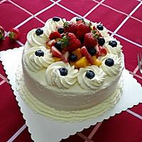 水果奶油裱花蛋糕(八寸超详细版)#豆果5周年#的做法图解27