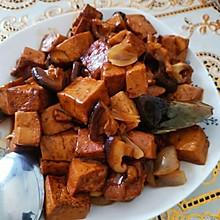 家常素烧豆腐(朋友评价有肉味)