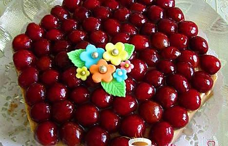 樱桃慕斯蛋糕的做法