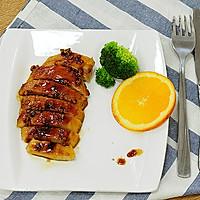 一食半刻   香蒜蜂蜜煎鸡扒的做法图解7