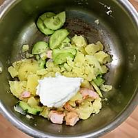 低脂日式土豆沙拉的做法图解3