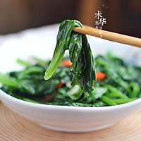 #花10分钟,做一道菜!#清炒木耳菜的做法图解8