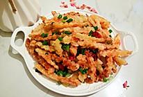10分钟快速做好/椒盐土豆条的做法