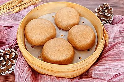 全麦紫薯包·奶香十足馅料丰富的减肥主食