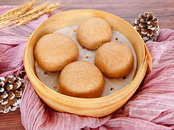 全麦紫薯包·奶香十足馅料丰富的减肥主食的做法
