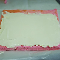 萌兔子彩绘蛋糕卷#特百惠龙卷风佳作#的做法图解16