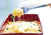 好吃到飞起的拉丝海鲜焗饭的做法