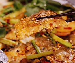 锡纸香辣烤鱼的做法