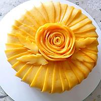 唯美芒果蛋糕#520,美食撩动TA的心!#的做法图解22