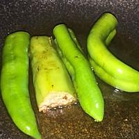 油焖尖椒(夹馅版)的做法图解6
