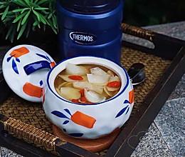 秋梨百合枸杞甜汤的做法