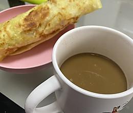 简易早餐的做法