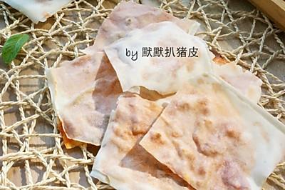 【夹心脆饼】巧用春卷皮