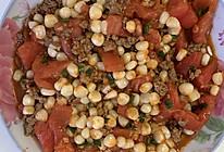 番茄肉末炒玉米的做法