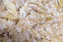 糖霜姜片的做法