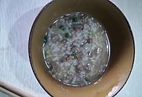 鸡肝粥的做法